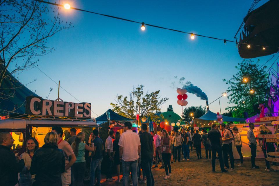 Festivallocaties bedrijfsevent