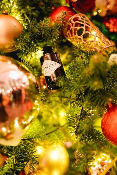 Hendricks Gin kerstfeest